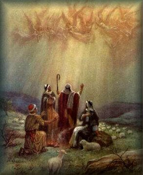 angels sing to shepherds - photo #14