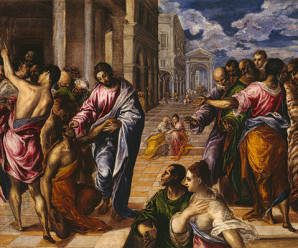 Christ Healing the Blin - El Greco