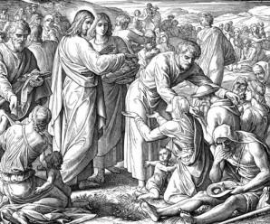 Feeding the 5,000 - Schnorr von Carolsfeld, Julius