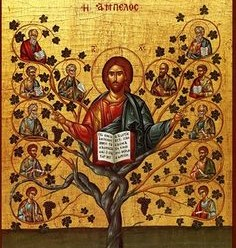 Jesus and Apostles tree icon