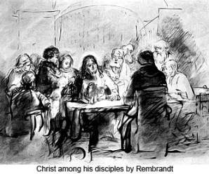 Rembrandt_Christ_among_his_disciples